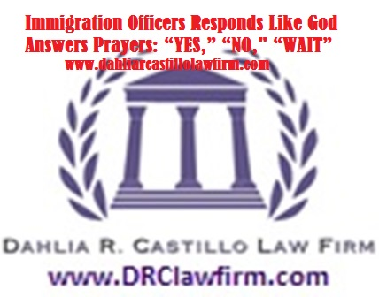 """Immigration Officers Respond Like God Answers Prayers: """"YES"""