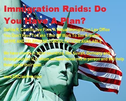 Immigration Raids blog